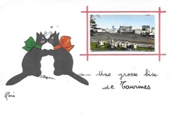 12)  TAURINES  - Une Grosse Bise De Taurines  (  Centrès  ) - Otros Municipios