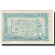 France, 50 Centimes, 1917-1919 Army Treasury, SUP, Fayette:VF 1.03, KM:M1 - Schatkamer