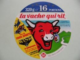 """Etiquette Fromage Fondu - Vache Qui Rit - 16 Portions Bel Pub """"MASK 1000 Jouets à Gagner""""    A Voir ! - Fromage"""
