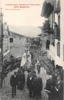 Fuenterrabia Fontarrabie Procesion Procession Santa Magdalena - Guipúzcoa (San Sebastián)