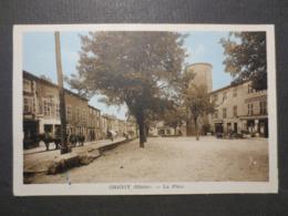 69 - Grigny - CPA - La Place  - J. Cellard , Lyon - TBE - (  Vue Peu Commune ) - Grigny