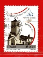 Italia ° - Anno -2004 - TORINO 2006 .  Unif. 2780.  Usato - 6. 1946-.. Republik