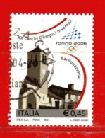 Italia ° - Anno -2004 - TORINO 2006 .  Unif. 2780.  Usato - 2001-10: Usados