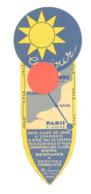 Marque-pages - Ferries, Train, Voyages : Paris Southampton Londres Et Paris Dieppe Newhaven Londres (b260) - Marque-Pages