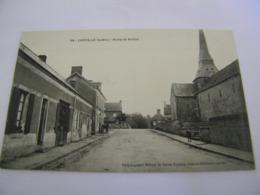 C.P.A.- Chevillé (72) - Route De  Brulon - 1910 - SUP (CQ 24) - Sonstige Gemeinden