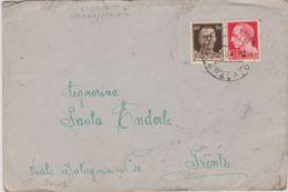 1943 SALONA/SPALATO C2 (4.7) Su Busta Affrancata Imperiale C.20 E 30 - 1900-44 Vittorio Emanuele III