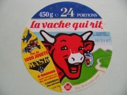 """Etiquette Fromage Fondu - Vache Qui Rit - 24 Portions Bel Pub """"MASK 1000 Jouets à Gagner""""    A Voir ! - Fromage"""