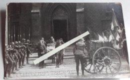1918 1919 Chasseurs à Pieds 21 Eme Bataillon Enterrement Officier Silésie Danube ? Poilu 1914 1918 WW1 14/18 1WK 2CPH - War, Military