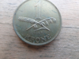 Danemark  1  Krone  1947  Km 835 - Danemark