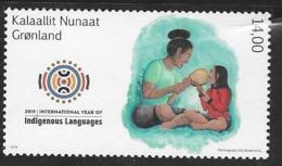 GREENLAND, 2019, MNH, LANGUAGES, INTERNATIONAL YEAR OF INDIGENOUS LANGUAGES,1v - Other