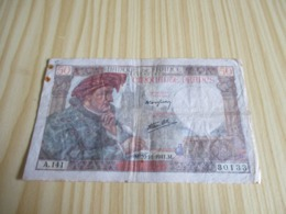 France.Billet 50 Francs Jacques Coeur 20/11/1941. - 50 F 1940-1942 ''Jacques Coeur''