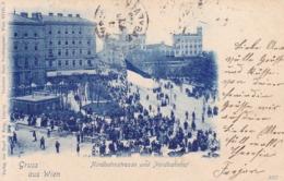 Wien * Nordbahnstrasse, Leute, Nordbahnhof * Österreich * AK638 - Vienna Center