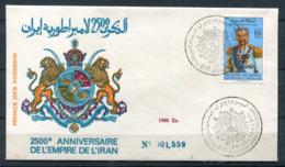 Maroc 1er Jour Shah D' Iran - Marokko (1956-...)