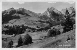 Grimmialp - Rauflihorn - Rothorn - Spillgerten - BE Berne