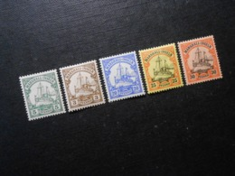 D.R. 14/13/16-18  5Pf**MNH/ 3/20/25/30Pf*MLH - Marshall-Inseln - 1901 - Mi 6,00 € - Colony: Marshall Islands