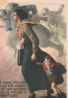 Cartolina - Postcard / Non  Viaggiata - Unsent /  G. Boccasile - La Donna Italiana - Patriotiques