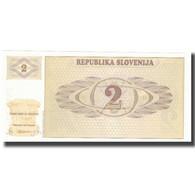 Billet, Slovénie, 2 (Tolarjev), KM:2s1, NEUF - Eslovenia