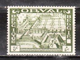 363**  Grande Orval - Bonne Valeur - MNH** - COB 170 - Regommé - LOOK!!!! - Belgium