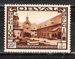 365**  Grande Orval - Bonne Valeur - MNH** - COB 135 - Regommé - LOOK!!!! - Belgium