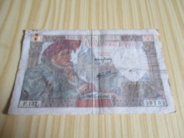 France.Billet 50 Francs Jacques Coeur 20/11/1941. - 1871-1952 Antichi Franchi Circolanti Nel XX Secolo