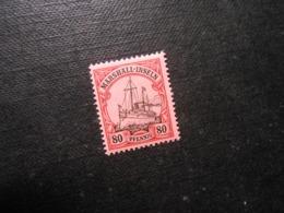 D.R. 21  80Pf*MLH - Marshall-Inseln - 1901 - Mi 4,00 € - Colony: Marshall Islands