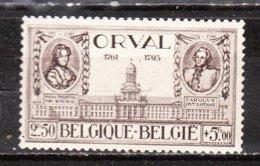 372**  Grande Orval - Bonne Valeur - MNH** - COB 260 - Regommé - LOOK!!!! - Belgique