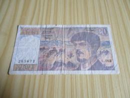 France.Billet 20 Francs Debussy 1997. - 20 F 1980-1997 ''Debussy''