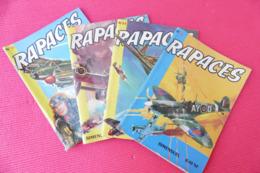 RAPACES N°11- N°19 - N°24 - N°26 (Années 1961/62/62/62) ***** BHR 027X - Magazines