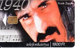 HUNGARY - Frank Zappa, Tirage 50000, 04/00, Used - Musik