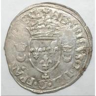 Dup 997 - HENRI II - DOUZAIN AUX CROISSANTS - 1551+ - CAEN  - TTB - - 1547-1559 Henri II