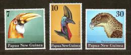 Papouasie Et Nouvelle-Guinée Papua 1974 Yvertn° 269-71 *** MNH Cote 20 Euro Faune Oiseaux Vogels Birds - Papouasie-Nouvelle-Guinée