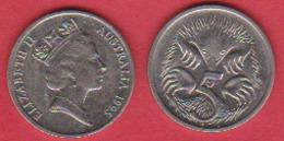 Australien 5 Cents 1998 K-N Kurzschnabeligel Schön Nr.67 KM 80 - Dezimale Münzen (1966-...)