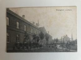 Waregem - Waereghem -  L'Hôpital - Gelopen 1910 - Waregem