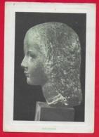 CARTOLINA VG ITALIA - Giocondina - A. BIANCINI (Bronzo) - Istituto LA CASA MILANO - 10 X 15 - 1954 CAVE DEL PREDIL - Sculture