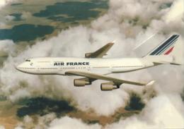 Air France Airlines B747 Aereo Airways AirFrance Airplane - 1946-....: Era Moderna