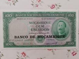 100 Escudos Moçambique 27/03/1961 - Mozambique
