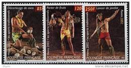Polynésie, N° 669 à N° 671** Y Et T - Polynésie Française