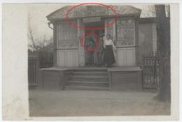 Kowel - Soldat Sanitätsdepot Kleiner Hund  Dackel Teckel Dachshound-carte  PHOTO Allemande  (1914-1918) - War 1914-18