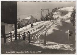 SKILIFT NIGGENKOPF-GOLM, BRAND, AUSTRIA. POSTED 1960's - Bludenz