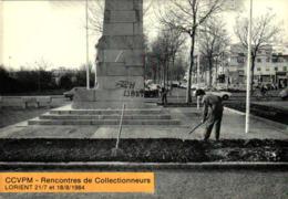 CCVPM - Rencontres De Collectionneurs Lorient 1984 - LORIENT - Jardiniers Municipaux 1981 - Bourses & Salons De Collections