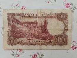 100 Cien Pesetas 17/11/1970 - [ 3] 1936-1975 : Regime Di Franco