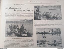 1900 LES SPORTS À L'EXPOSITION ( JEUX OLYMPIQUE ) - LES CHAMPIONNATS DU MONDE DE NATATION - 1900 - 1949