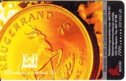 HUNGARY(chip) - Kruggerand, K&H Bank, Tirage 82999, 06/96, Used - Francobolli & Monete
