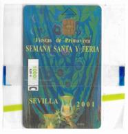 Spain - Telefonica - Sevilla 2001 (fiestas De Primavera) - P-224 - 03.2001, 26.500ex, NSB - España