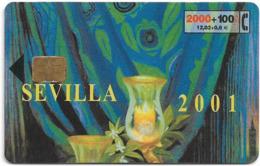 Spain - Telefonica - Sevilla 2001 (fiestas De Primavera) - P-225 - 03.2001, 26.300ex, Used - Conmemorativas Y Publicitarias
