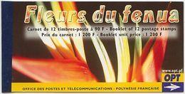 Polynésie, N° 723 à N° 734** Y Et T En Carnet C723 - Carnets