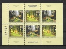 2011 MNH Bosnai, Serbian Mail Booklet Pane Postfris** - 2011