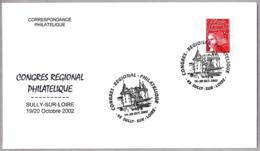 CASTILLO DE SULLY SUR LOIRE - CASTLE. Sully Sur Loire 2002 - Castillos