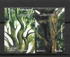 2011 MNH Bosnia, Pair From Booklet Postfris** - 2011