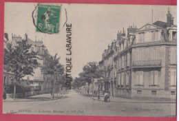 58 - NEVERS---L'Avenue Marceau - Nevers